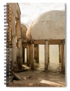 Bubble House I Spiral Notebook