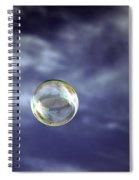 Bubble Self Portrait Spiral Notebook