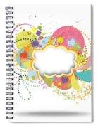 Bubble Speech Spiral Notebook