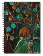 Bubble Tree - Spc01ct04 - Left Spiral Notebook