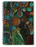 Bubble Tree - Spc01ct04 - Right Spiral Notebook