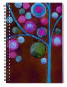 Bubble Tree - W02d - Left Spiral Notebook