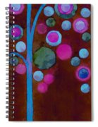 Bubble Tree - W02d Spiral Notebook