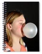 Bubblegum Bubble 2 Of 6 Spiral Notebook