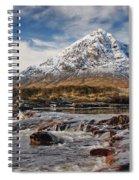 Buchaille Etive Mhor - Glencoe Spiral Notebook