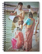 Bucket Wash Spiral Notebook