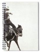 Bucking Bronco, C1888 Spiral Notebook