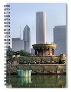 Buckingham Fountain - 1 Spiral Notebook