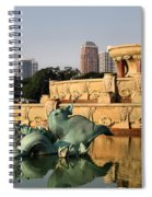Buckingham Fountain - 3 Spiral Notebook