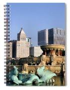 Buckingham Fountain - 4 Spiral Notebook