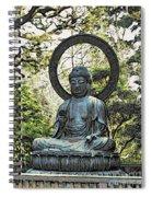 Buddah Spiral Notebook