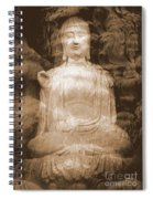 Buddha And Ancient Tree Spiral Notebook