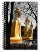 Buddha In The Jungle Spiral Notebook