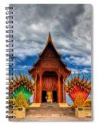 Buddha Temple Spiral Notebook