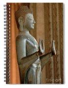 Buddha Vientienne Laos Spiral Notebook