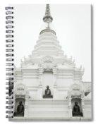 Buddhist Chedi Spiral Notebook