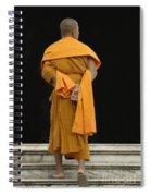 Buddhist Monk 1 Spiral Notebook