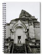 Buddhist Wat Chedi Luang Spiral Notebook