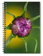 Budding Flower Spiral Notebook