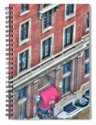Buffalo Athletic Club Downtown Winter Spiral Notebook