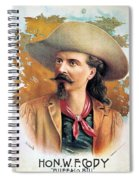 Buffalo Bill Cody, C1888 Spiral Notebook