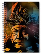 Buffalo Headdress Spiral Notebook