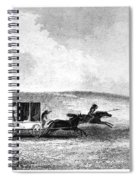 Buffalo Hunt, 1841 Spiral Notebook