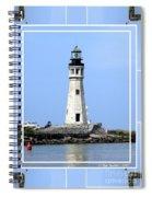 Buffalo Main Lighthouse Spiral Notebook