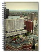 Buffalo New York Aerial View Spiral Notebook