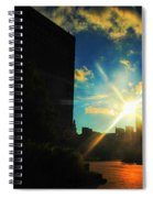 Buffalo Ny Awakening  Spiral Notebook