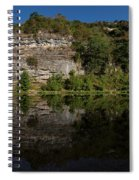Buffalo River Bend Panorama Spiral Notebook