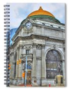 Buffalo Savings Bank  Goldome  M And T Bank Branch Spiral Notebook