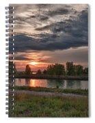 Buffalo Sunset 14390 Spiral Notebook