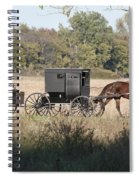 Buggy And Wagon Spiral Notebook