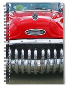 Buick With Teeth Spiral Notebook