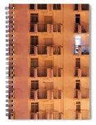 Building Facade Spiral Notebook