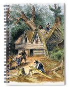 Building Houses, 17th C Spiral Notebook