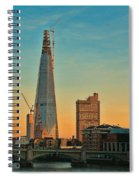 Building Shard Spiral Notebook