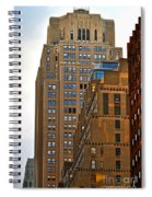 Buildings From The Taxi Spiral Notebook