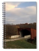 Built In 1883 Roseman Bridge Spiral Notebook