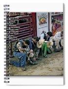Bull Riders Prayer - With Prayer Text Spiral Notebook