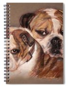 Bulldogs Spiral Notebook