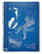 Bulletproof Patent Artwork 1968 Figures 16 To 17 Spiral Notebook