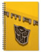 Bumble Bee Logo-7909 Spiral Notebook