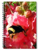 Bumblebee And Snapdragon Spiral Notebook