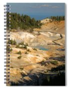 Bumpass Hell Spiral Notebook