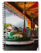 Bumper Cars Spiral Notebook