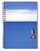 Buoy Off Bass Harbor Head Spiral Notebook