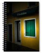 Burano Flower Shop Spiral Notebook