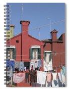 Burano. Venice Spiral Notebook